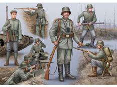 Soldats allemands, première Guerre Mondiale - Revell 02504