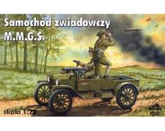 Ford T M.M.G.S. Mk. 1916 véhicule de reconnaissance - RPM 72102