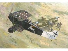 Maquette Roden 00421 : Fokker D VII Albatros