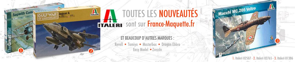 Toutes les nouveautés Italeri sur France Maquette.fr