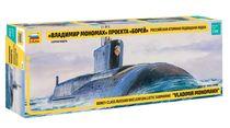 Maquette navires militaires : Sous Marin Nucléaire Russe Classe Borey - 1/350 - Zvezda 09058