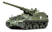Maquette char d'assaut : Canon SPG M40 155MM - 1/35 - Tamiya 35351