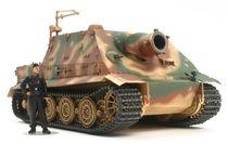 Maquette char d'assaut : Panzer III DAK et équipage - 1/35 - Tamiya 32405