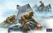 Figurines militaires : Croisement de route - 1:35 - Masterbox 35190