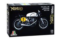 Maquette de moto : Norton Manx 500cc 1951 - 1:9 - Italeri 04602