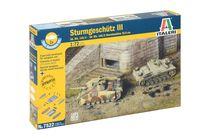 Maquette militaire : Stug III Ausf F - 1:72 - Italeri 07522