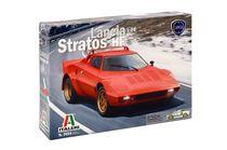 Maquette voiture : Lancia Stratos HF - 1:24 - Italeri 03654
