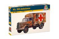 Maquette militaire : KFZ.305 Ambulance - 1:35 - Italeri 07055