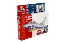 Maquette avion militaire : EF-2000 TYPHOON - MODEL SET - 1:72 - Italeri 01392