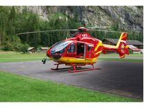 Maquette hélicoptère de transport : Airbus Helicopters EC135 Air-Glaciers - 1/72 - Revell 04986