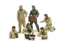 6 figurines miniatures Equipage Char US Fin 2ème GM 1:35 - 5347