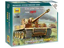 Maquette militaire : Char Tigre I - 1/100 - Zvezda 6256
