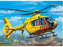 Maquette d'hélicoptère : Model set Airbus Helicopters EC135 ANWB - 1/72 - Revell 64939