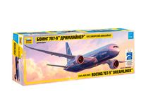 Maquette d'avion civil : Boeing 787‐9 - 1/144 - Zvezda 7021