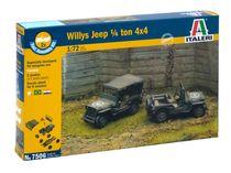 Maquettes véhicules militaires : 1/4 Ton 4x4 Truck - 1:72 - Italeri 07506
