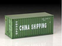 Décor maquette : Container 20' - 1/24 - Italeri 3888