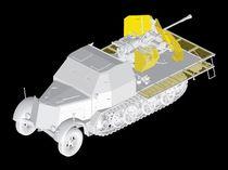 Maquette véhicule militaire : Sd.Kfz.7 avec Flak 43 - 1/35 - Dragon 06553