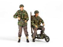 Figurines militaires : Parachutistes britanniques et Mini Bikes - 1/35 - Tamiya 35337