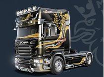 """Maquette camion : Scania R730 V8 Topline """"Imperial"""" - 1:24 - Italeri 03883"""