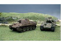 Maquette militaire : PZ. KPFW Panther AUSF.G - 1:72 - Italeri 07504