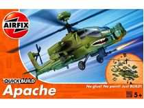 Quick Build - Maquette militaire : Hélicoptère Apache - Airfix J6004