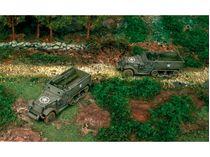 Maquettes véhicules militaires : Halftracks M3A1 - 1:72 - Italeri 07509