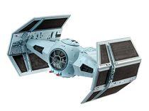 Maquette Star Wars : Model set Dark Vador TIE Fighter - Revell 63602