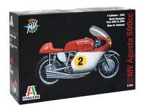 Maquette moto 4 cylindres MV Agusta 500 cc 1964 -  Italeri 04630