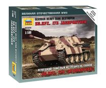 Maquette militaire : Char d'assaut Sd.Kfz 173 Jagdpanther - 1/100 - Zvezda 6183
