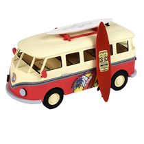 Maquette en bois voiture : Junior collection : Van de surfeur - Artesania Latina 30522