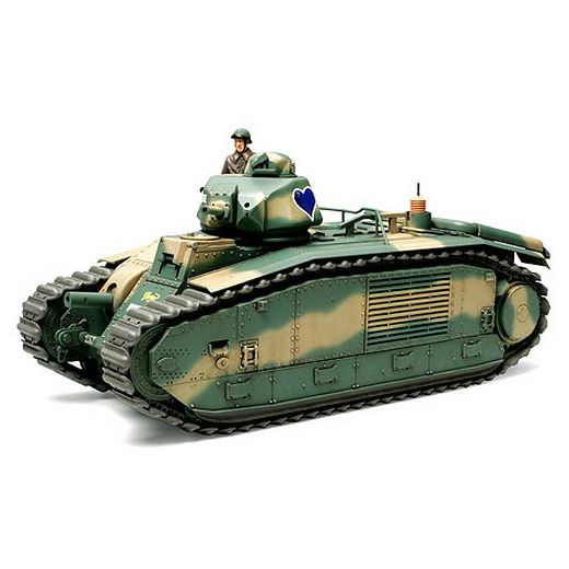 maquette plastique - Tamiya 35282 : Char B1 Bis, Char d ...