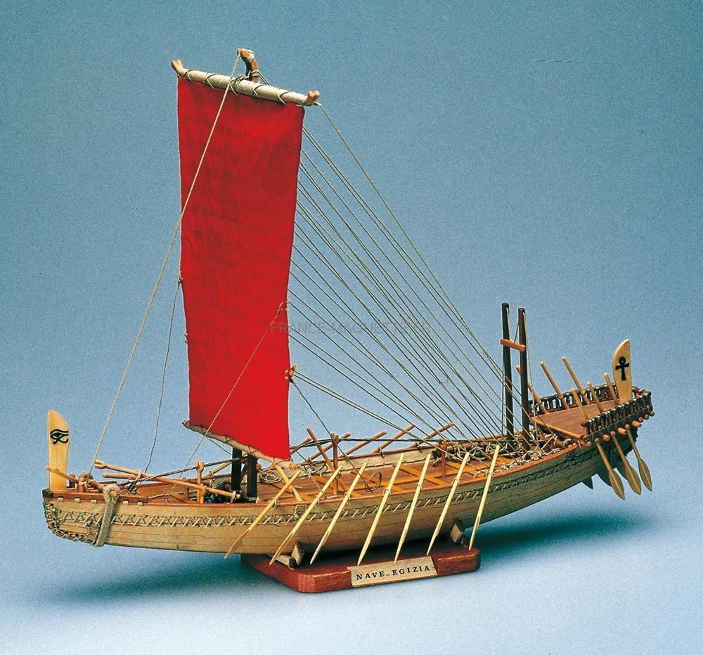 maquette bateau bois navire gyptien amati 01403. Black Bedroom Furniture Sets. Home Design Ideas