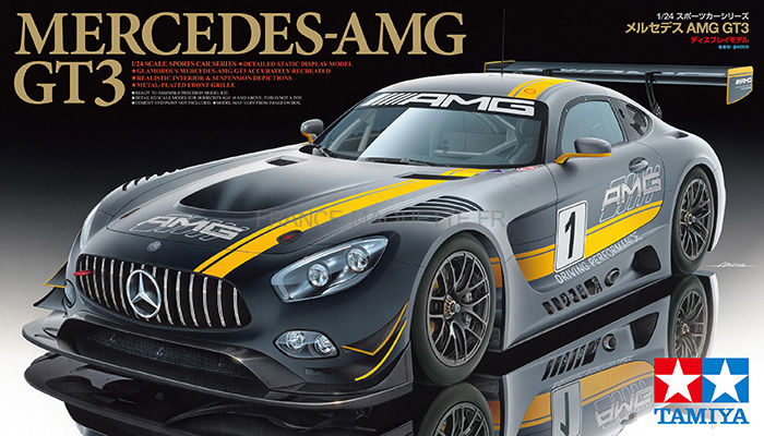 maquette mercedes benz slr 722 edition tamiya 24345. Black Bedroom Furniture Sets. Home Design Ideas