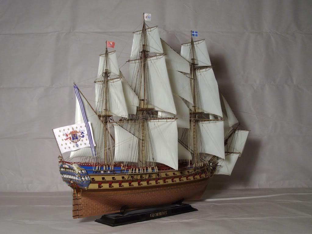 Heller  maquette Le Glorieux