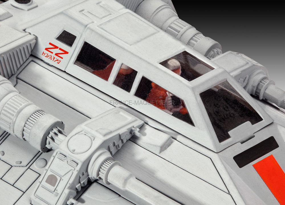 Maquette Star Wars : Snowspeeder  Jeux et jouets Revell  Avenue des Jeux