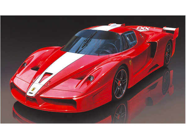 maquette de voiture de sport ferrari fxx 1 24 tamiya 24292. Black Bedroom Furniture Sets. Home Design Ideas