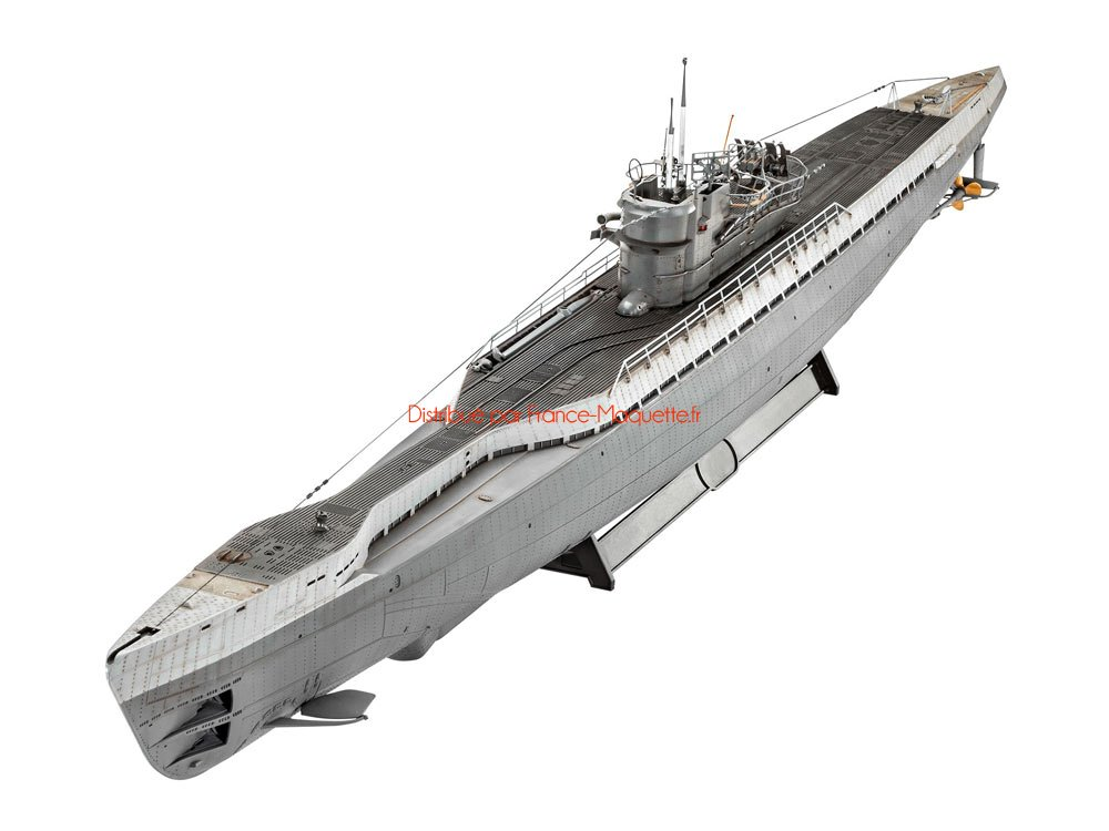 maquette de navire militaire sous marin allemand type ix c 40 1 72 revell 05133. Black Bedroom Furniture Sets. Home Design Ideas