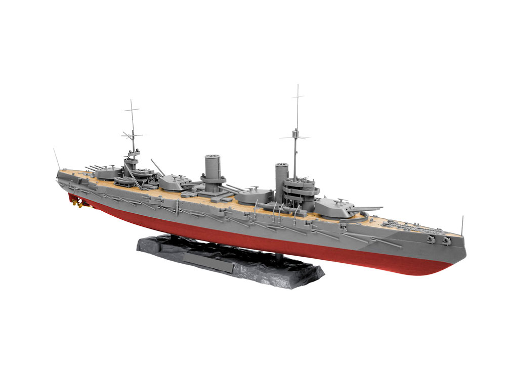 maquette de navire militaire cuirass russe gangut wwi 1 350 revell 05137. Black Bedroom Furniture Sets. Home Design Ideas
