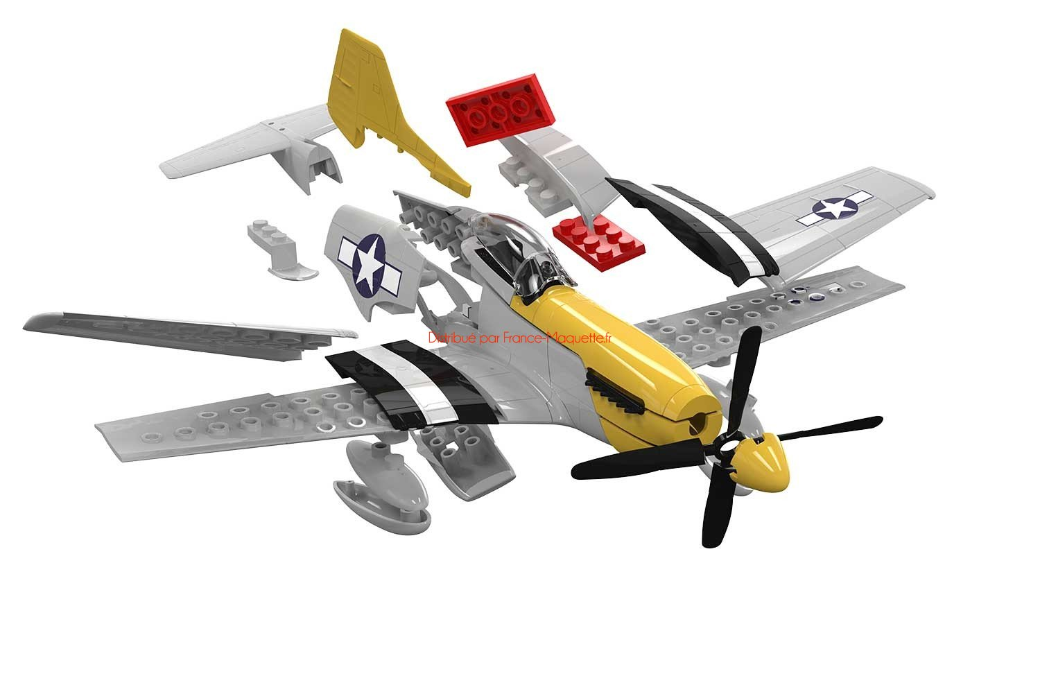 Quick build maquette avion militaire mustang p 51d - Quick build houses ...