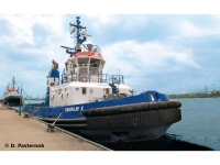 Maquette de navire civil : Harbour Tug Boat 'Fairplay I, III, X, XIV' - 1:144 - Revell 05213