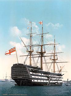 H.M.S. Victory - Modèle de voilier britannique