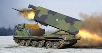 Maquette militaire : M270/A1 Multiple Launch Rocket System - Finland/Netherlands - 1:35 - Trumpeter 751047