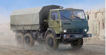 Maquette véhicule de transport : KAMAZ 4310 Truck russe - 1:35 - Trumpeter 751034