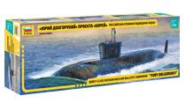 Maquette navires militaires : Sous Marin Yuri Dolgoru - 1/350 - Zvezda 09061