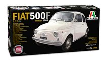 Maquette voiture de collection : FIAT 500 F - 1:12 - Italeri 04703