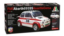 Maquette voiture de collection : FIAT Abarth 695SS - 1:12 - Italeri 04705