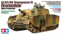 Maquette Char d'assaut allemand - Brummbar Late Production - 1/35 - Tamiya 35353