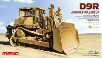 Maquette voiture : US D9R ARMORED BULLDOZER - 1:35 - Meng SS002