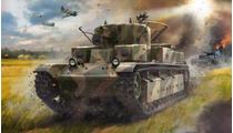 Maquette militaire : Char Lourd Russe T‐28 - 1/72 - Zvezda 5064 05064 - france-maquette.fr