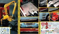 Accessoire maquette de camion : Set d'accessoires camion - 1:24 - Italeri 3854